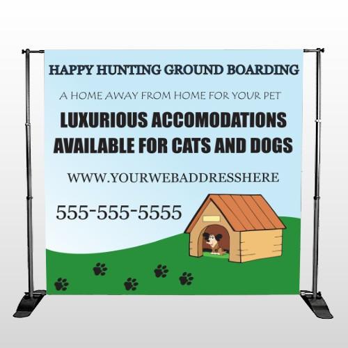 Hunting 301 Pocket Banner Stand