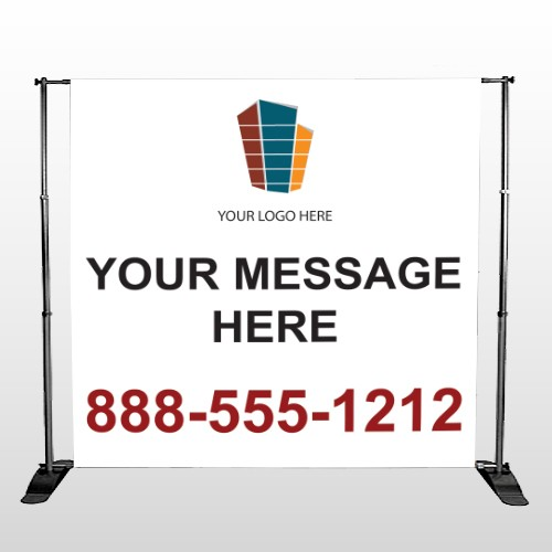 Mortgage 177 Pocket Banner Stand