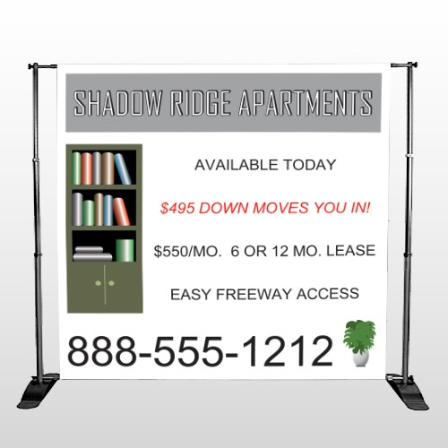 Shelving 530 Pocket Banner Stand