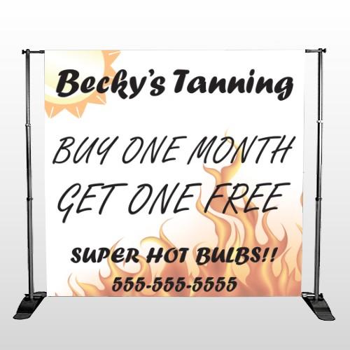 Tanning 298 Pocket Banner Stand