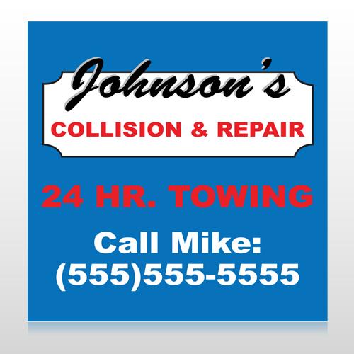 Repair 124 Custom Sign