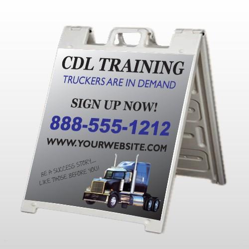 CDL Training 155 A Frame Sign