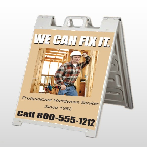 Handyman 243 A Frame Sign