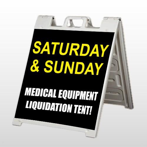 Medic Liquidation 331 A-Frame Sign