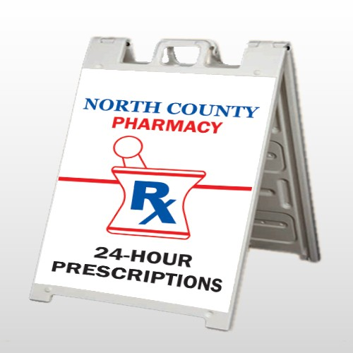 Pharmacy 101 A Frame  Sign