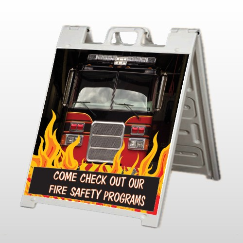 Safety Program 427 A Frame Sign