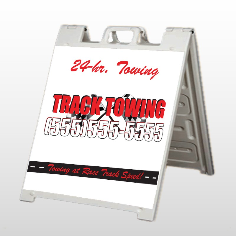 Towing 126 A Frame Sign