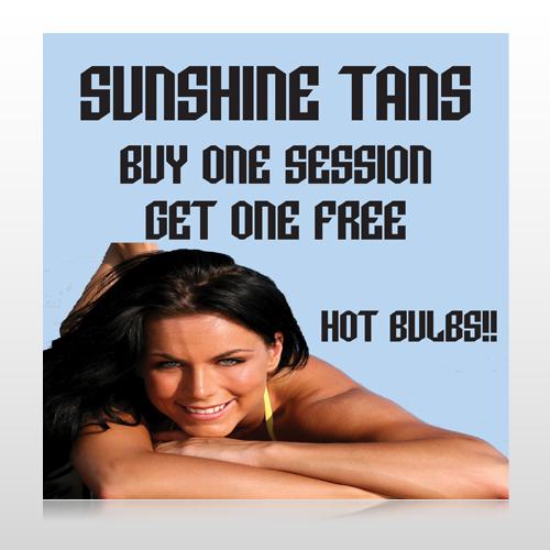 Sunshine Tans 297 Custom Banner
