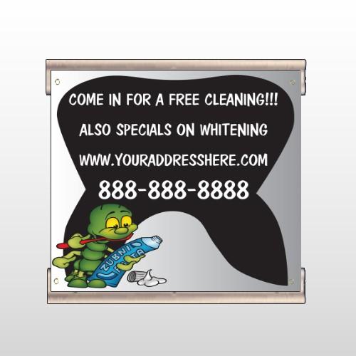 Brushing Germ 502 Track Banner