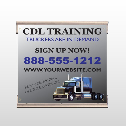 CDL Training 155 Track Banner