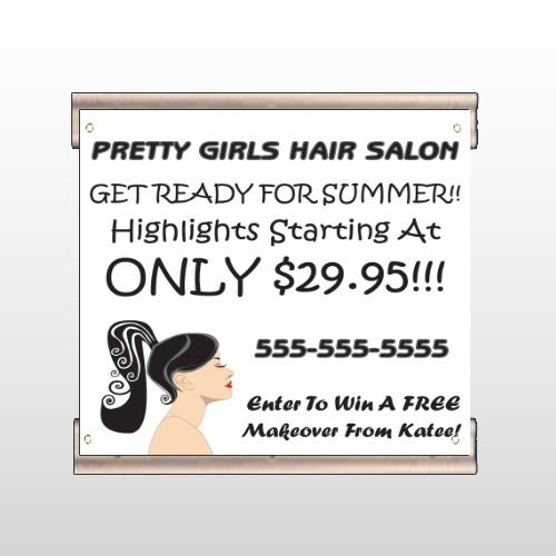 Pretty Girl Hair 290 Track Banner