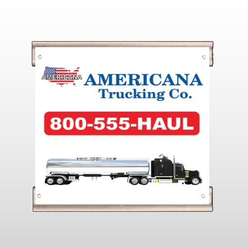 Tanker Truck 315 Track Banner