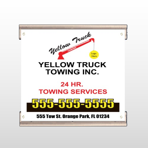 Towing 125 Track Banner