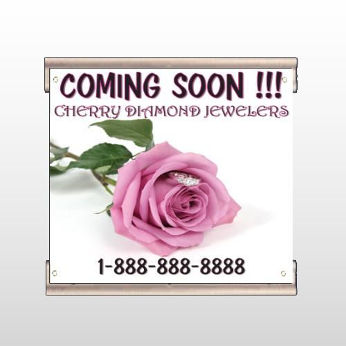 Pink Rose Hidden Ring 399 Track Banner