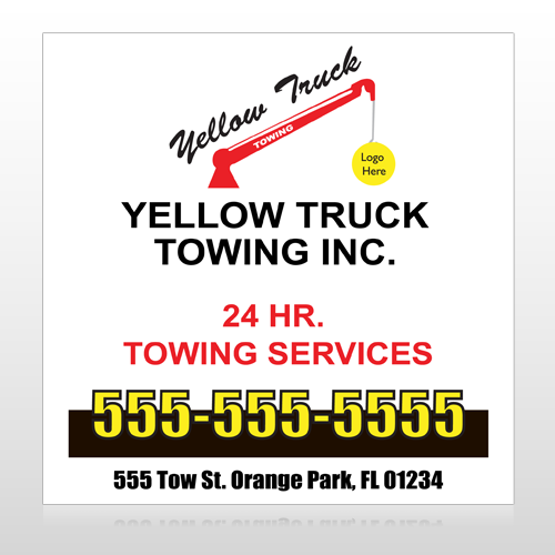 Towing 125 Site Sign