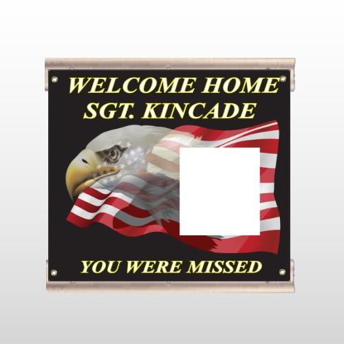 Eagle Flag 307 Track Sign