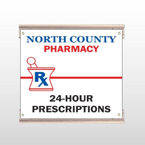 Pharmacy 101 Track Sign
