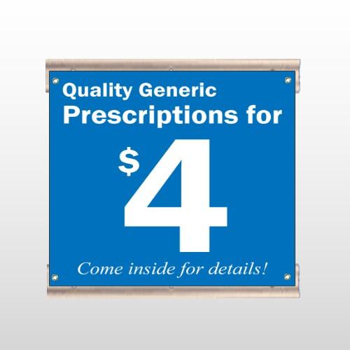 Pharmacy 102 Track Sign