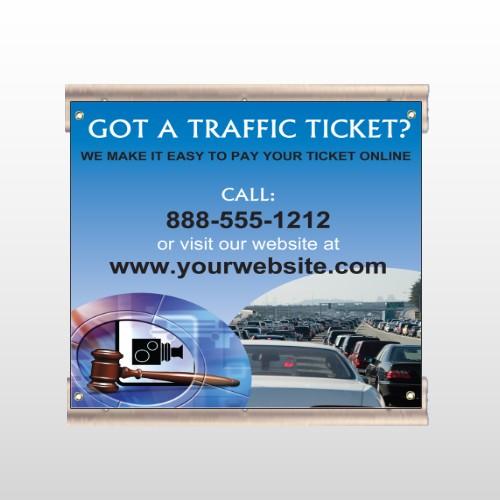 Traffic Cars 151 Track Sign