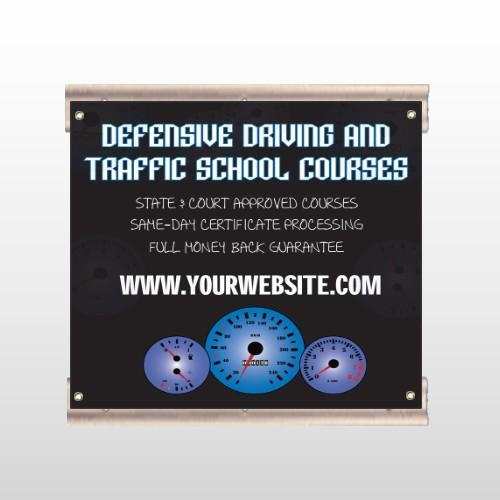 Traffic School 152 Track Sign