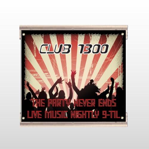 Night Club 523 Track Sign
