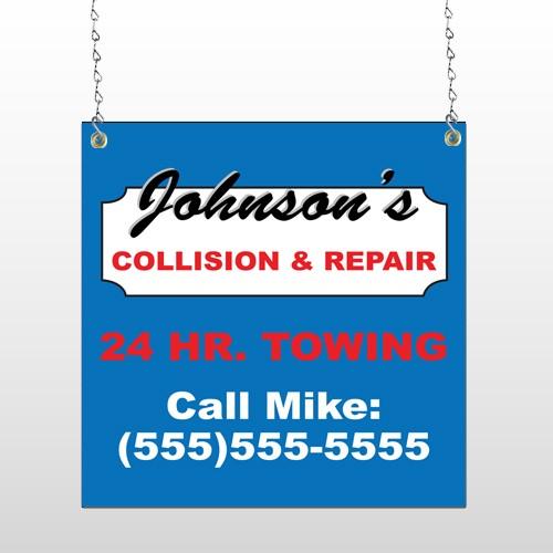 Repair 124 Window Sign