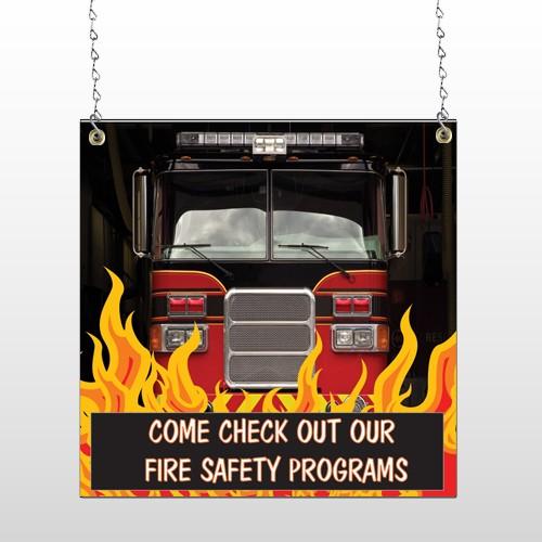 Safety Program 427 Window Sign