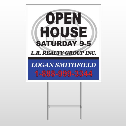 House Emblem 857 Wire Frame Sign