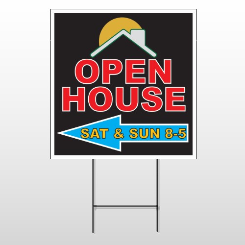 Open Moon Roof 726 Wire Frame Sign
