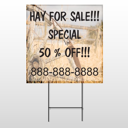 Woodwheel 413 Wire Frame Sign