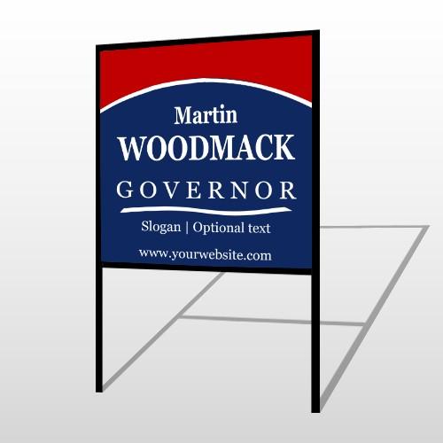 Governor 132 H Frame Sign