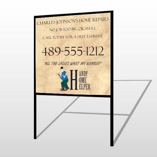Home Repair 242 H Frame Sign
