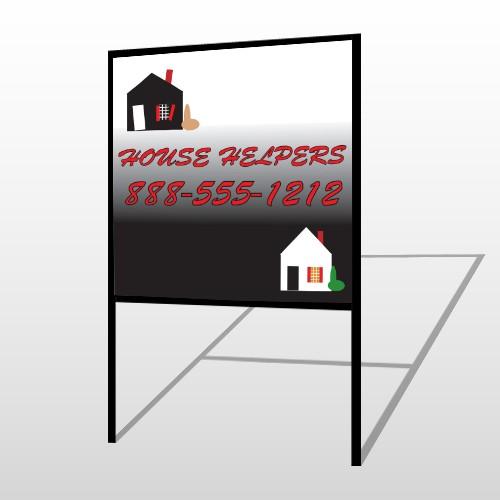Househelper 245 H Frame Sign