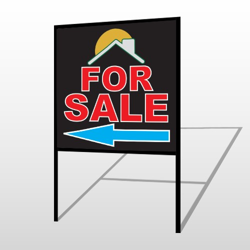Moon Roof 724 H-Frame Sign