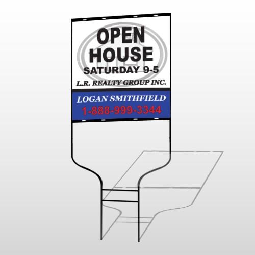 House Emblem 857 Round Rod Sign