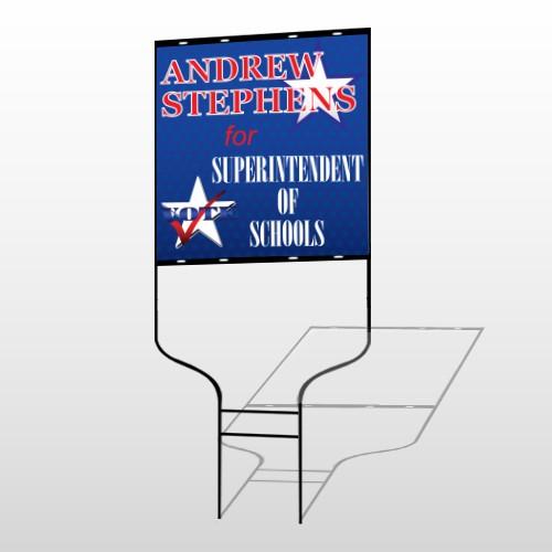Superintendent 306 Round Rod Sign