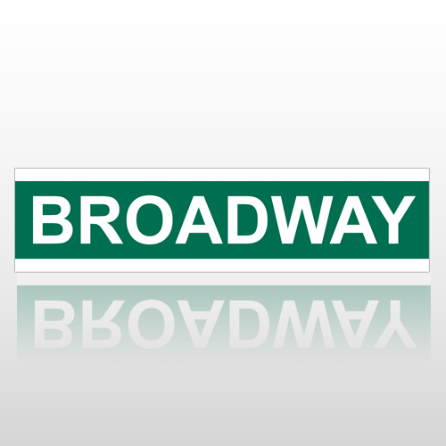 Broadway 217 Street Sign