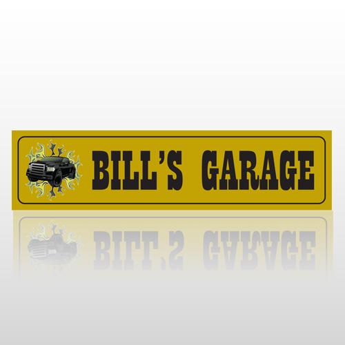 Garage 212 Street Sign