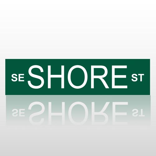 Standard 200 Street Sign