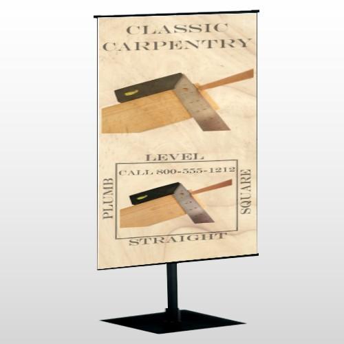 Carpentry 238 Center Pole Banner Stand