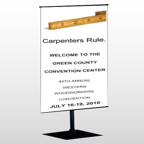 Convention 239 Center Pole Banner Stand