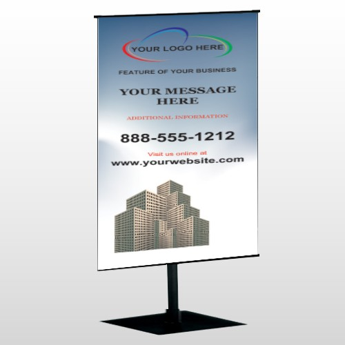 Industry 168 Center Pole Banner Stand