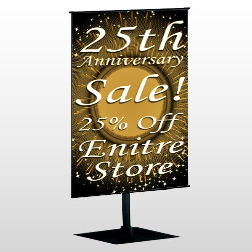 Sale 55 Center Pole Banner Stand