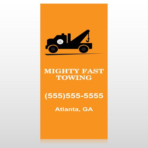 Mighty 128 Custom Sign