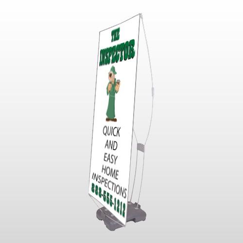 Home Inspection 361 Exterior Flex Banner Stand