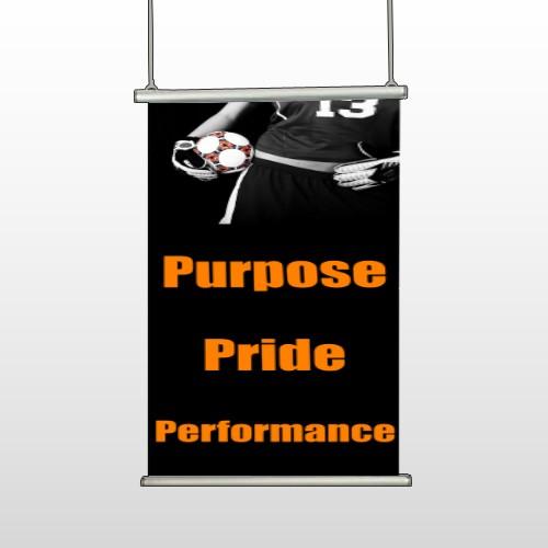 Black 41 Hanging Banner