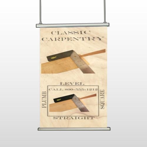 Carpentry 238 Hanging Banner