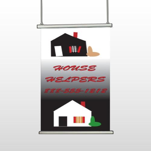 Househelper 245 Hanging Banner