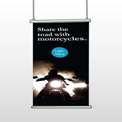 Motorcycle 106 Hanging Banner