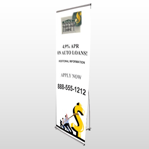 Auto Loan 173 Flex Banner Stand